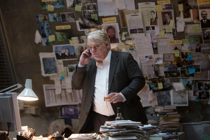 Philip Seymour Hoffman em O Homem Mais Procurado
