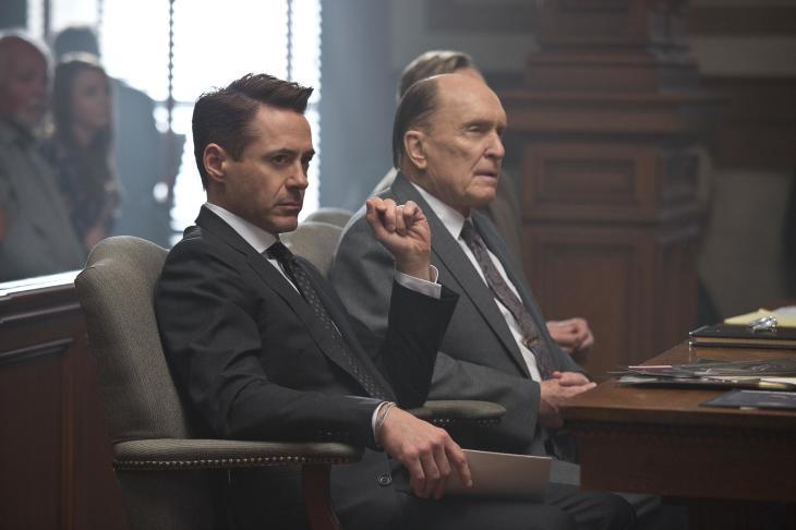 Robert Downey Jr. e Robert Duvall em O Juiz