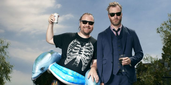 Tom e Matt Berninger em MIstaken for Strangers