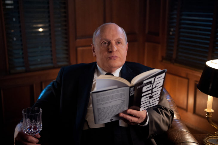 """UNDATED -- Anthony Hopkins as """"Alfred Hitchcock"""" on the set of HITCHCOCK. Photo By Suzanne Tenner Fox Searchlight"""