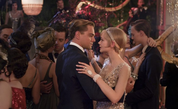 "(L-r) LEONARDO DiCAPRIO as Jay Gatsby and CAREY MULLIGAN as Daisy Buchanan in Warner Bros. Pictures' and Village Roadshow Pictures' drama ""THE GREAT GATSBY,"" a Warner Bros. Pictures release."